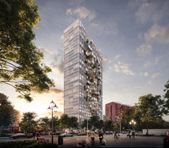 Najwyższy budynek w Albanii: projekt