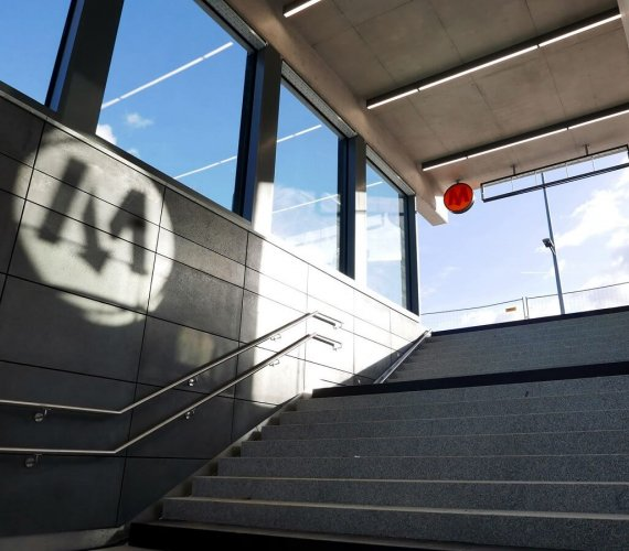 II linia metra: ostatnie prace na stacjach odcinka wschodniego północnego