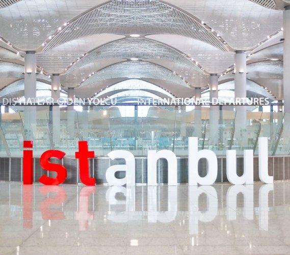 Tak prezentuje się nowe lotnisko w Stambule
