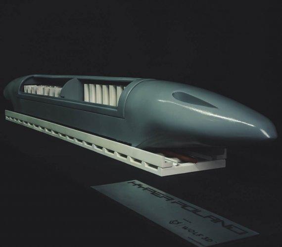 Polski hyperloop: oto model pojazdu