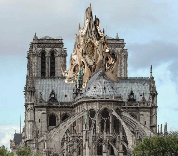 Nowa iglica Notre-Dame: 7 wizualizacji