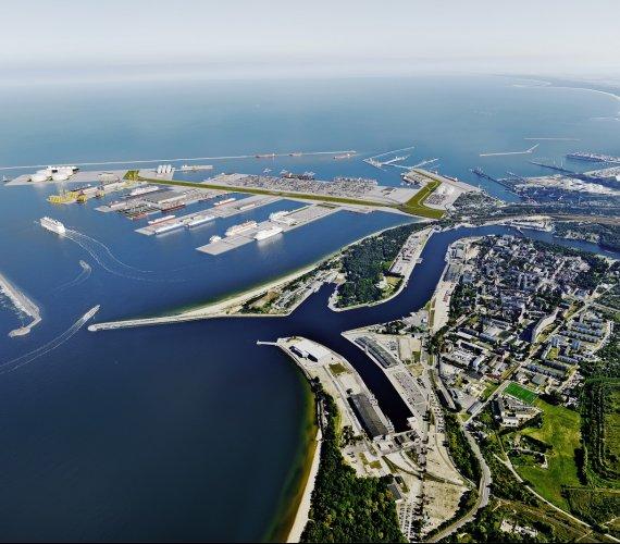 Taki będzie Port Centralny w Gdańsku [wizualizacje]