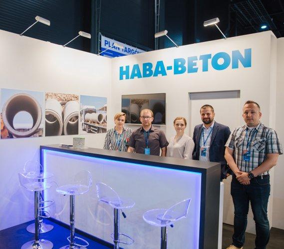 HABA-Beton na Targach WOD-KAN 2019