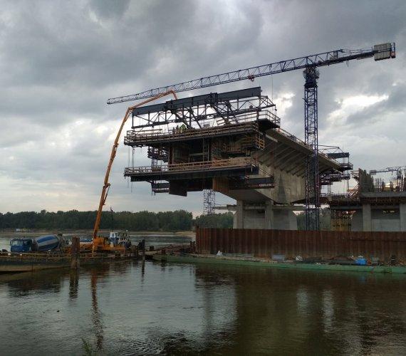 Co słychać na budowie Południowej Obwodnicy Warszawy?