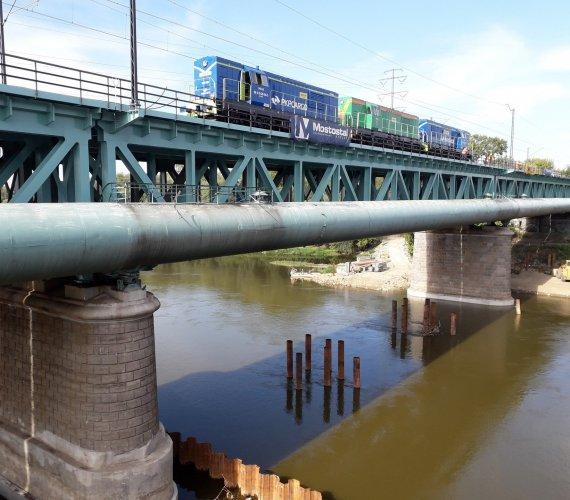Most Gdański: próby obciążeniowe