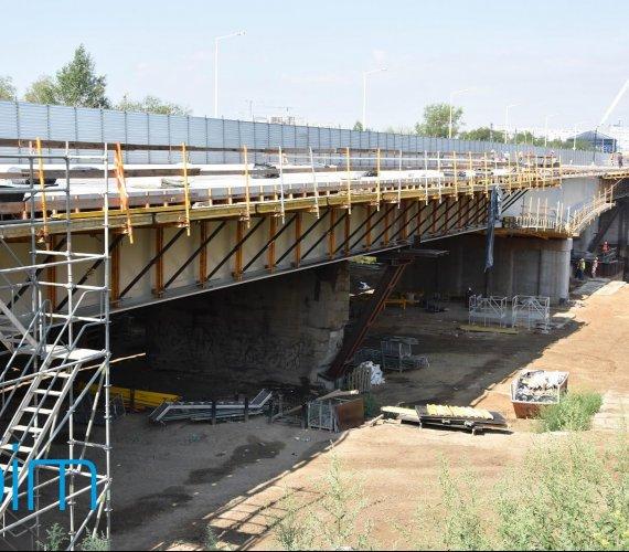 Poznań: kolejny etap budowy mostu Lecha