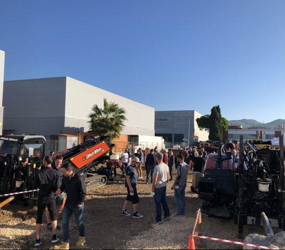 Premiery nowych maszyn bezwykopowych Ditch Witch w Barcelonie