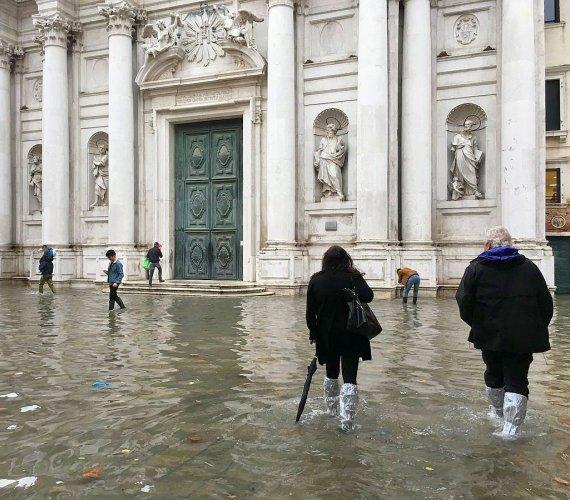 Powódź w Wenecji. Największa fala od pół wieku