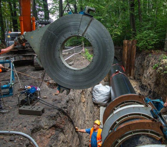 Nowy wodociąg z rur polietylenowych zapewni wodę dla Górnego Śląska
