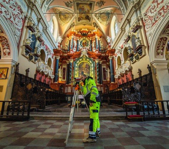 Monitoring budowli na przykładzie poznańskiego kościoła