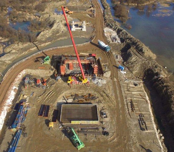 Budowa mostu przez Dunajec. Co się dzieje w Kurowie?