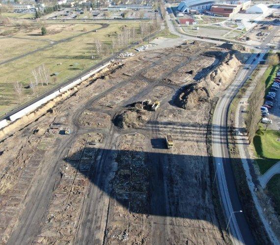 Nowa droga, torowisko i pętla – tak zmienia się część Szczecina