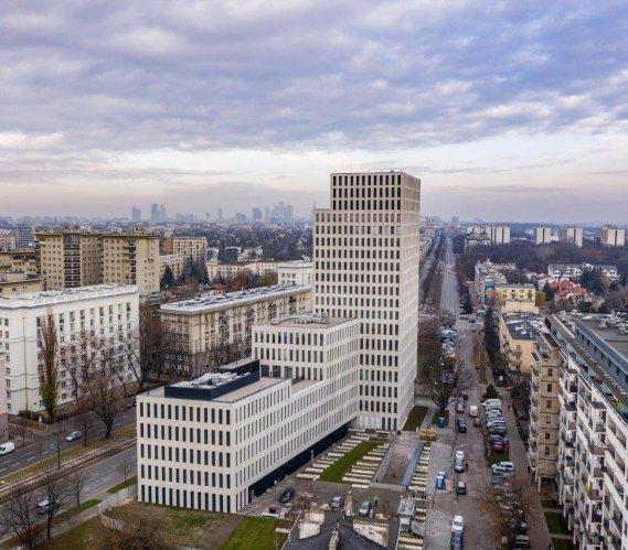Nowy wieżowiec w Warszawie oddany do użytku