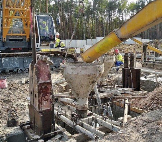 Najnowsze zdjęcia z budowy tunelu w Świnoujściu
