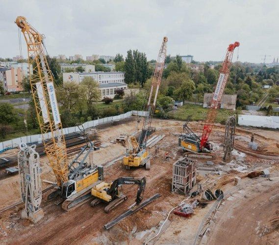 Łódź: wyjątkowe wyzwanie na budowie tunelu średnicowego