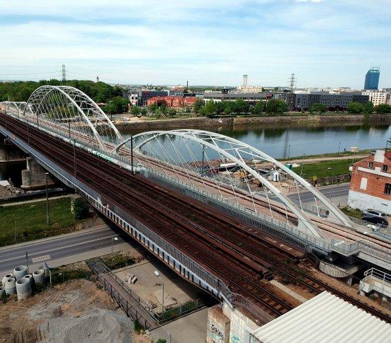 Tak wygląda nowy most w Krakowie