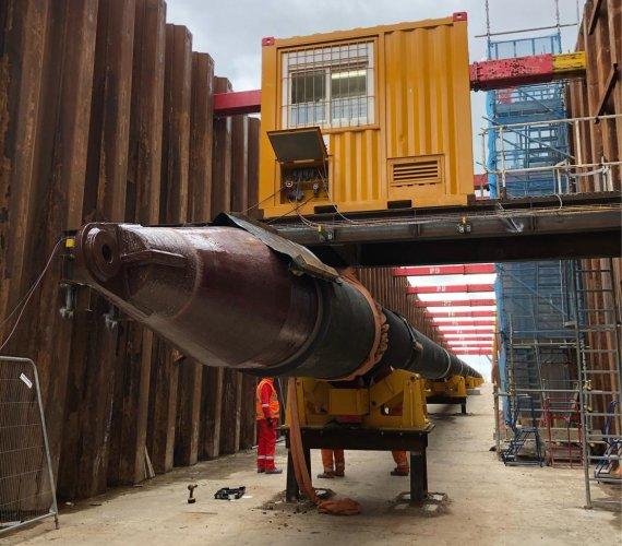 Instalacja 5-kilometrowego gazociągu w tunelu: przygotowania