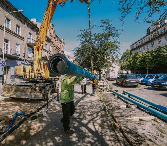 Łódź mimo epidemii modernizuje magistralę wodociągową