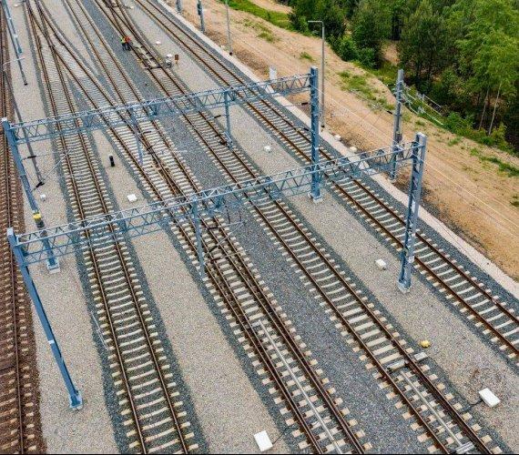 Centralna Magistrala Kolejowa: koniec ważnych robót na największej stacji
