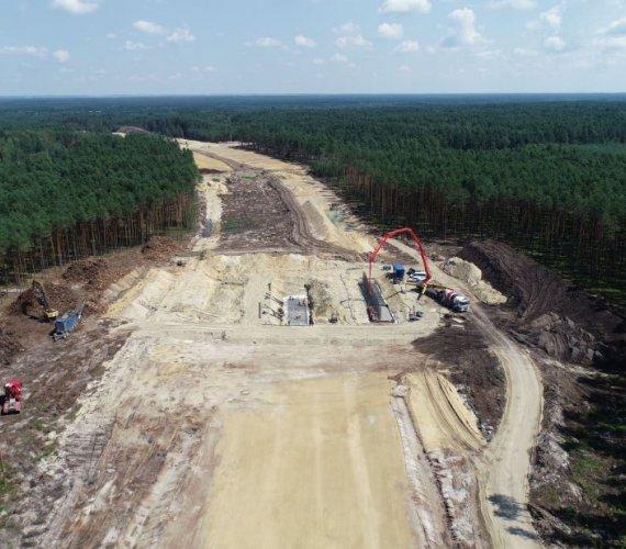 S19 Lasy Janowskie–Zdziary: co się dzieje na placu budowy?