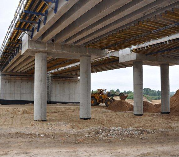 Obwodnica Kraśnika: 2300 ton stali na budowie mostów