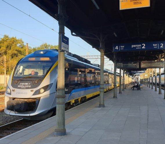Pociągi między Opolem a Kędzierzynem-Koźlem pojadą dwa razy szybciej
