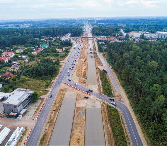 Droga ekspresowa S7 od wybrzeża Bałtyku po Tatry. Trwa budowa
