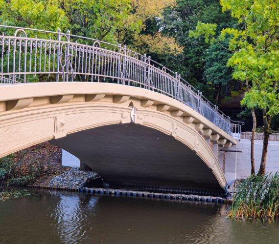 Koniec remontu zabytkowego mostu w Szczecinie