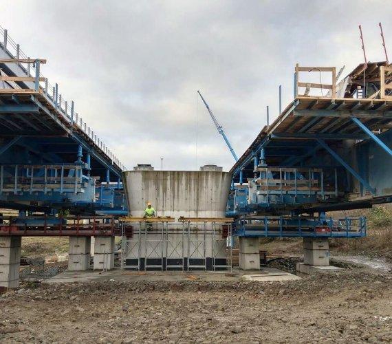 S7: budowa estakady na ekspresowej zakopiance