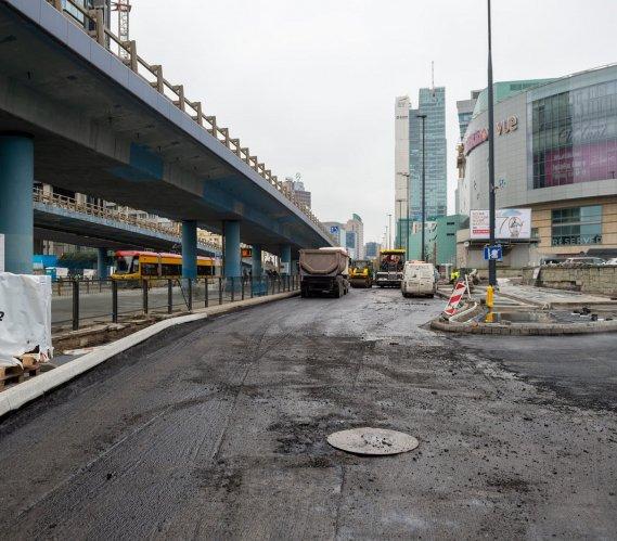 Warszawa: przebudowa ulicy przy Dworcu Centralnym