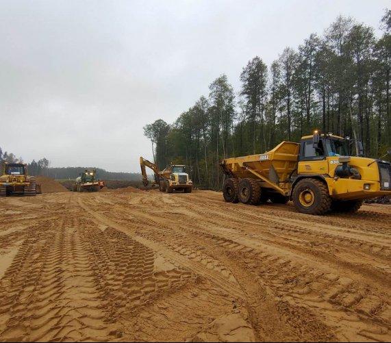 Odwierty, wymiana gruntu – rozpędza się budowa odcinka S61