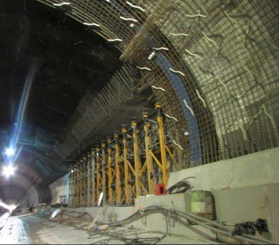 Najnowsze zdjęcia z budowy tunelu na zakopiance