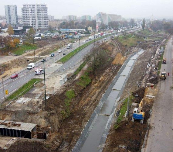 Budowa linii tramwajowej w Krakowie nabrała tempa
