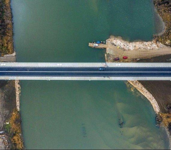 Most, który połączył dwa województwa, już otwarty
