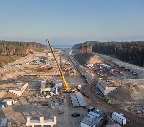 Zatoka Gdańska–Zalew Wiślany: najnowsze zdjęcia z placu budowy
