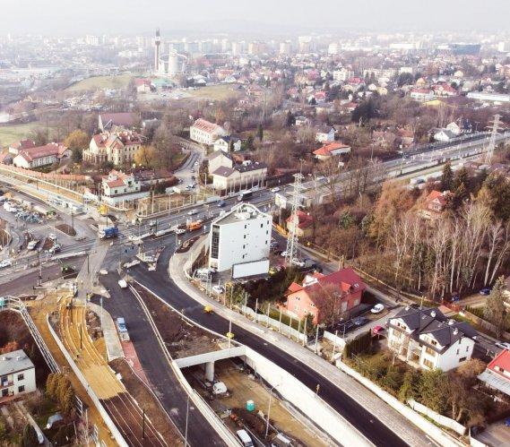 Trasa Łagiewnicka: gotowa konstrukcja tunelu