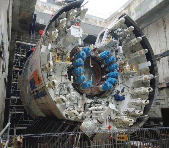 Tunel w Świnoujściu – najnowsze zdjęcia z placu budowy