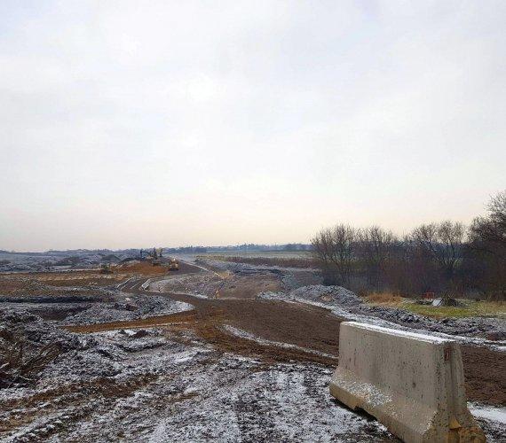 Najnowsze zdjęcia z budowy Północnej Obwodnicy Krakowa
