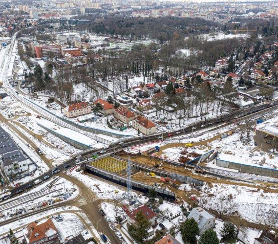 Przebudowa węzła Łękno w Szczecinie – najnowsze zdjęcia