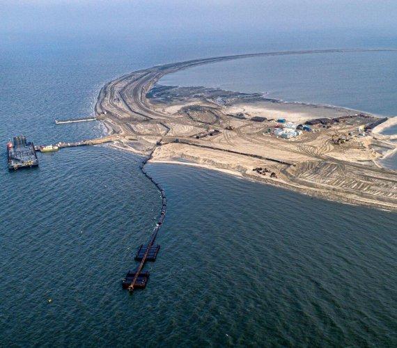 Budowa sztucznych wysp na Zalewie Szczecińskim