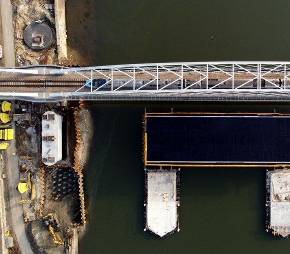Budowa drugiego mostu kolejowego w Krakowie