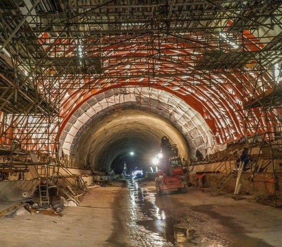 Zakopianka: budowa tunelu idzie pełną parą