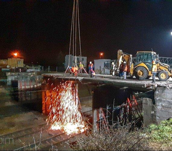 Przebudowa wiaduktu w Poznaniu. Prace także nocą
