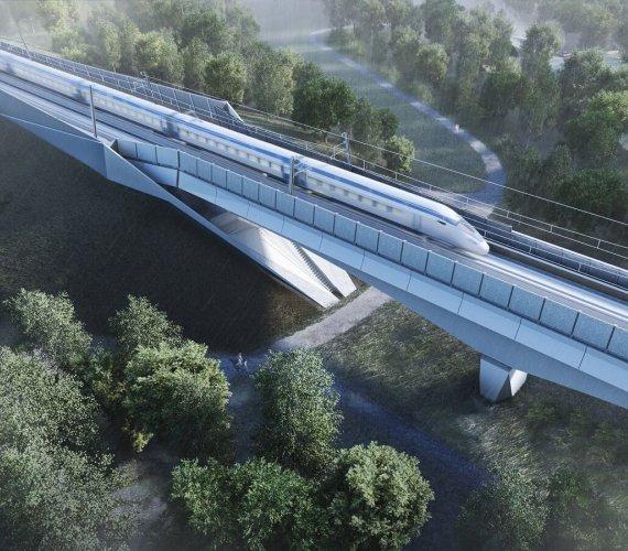 Tak wyglądać będzie najdłuższy brytyjski most kolejowy
