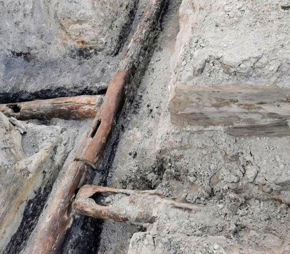 W Wielkopolsce odkryto 400-letni wodociąg. W dobrym stanie