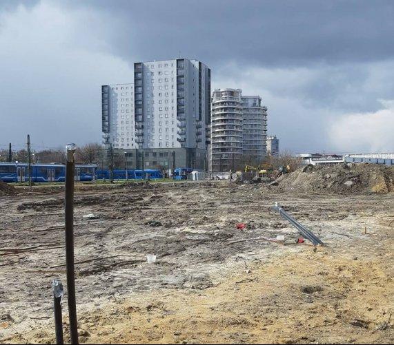 Tak wygląda plac budowy linii tramwajowej do Górki Narodowej w Krakowie