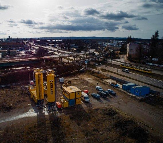 Koleją do portu – prace geotechniczne w Szczecinie
