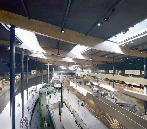 Łeba: takie będzie muzeum archeologii podwodnej – wizualizacje