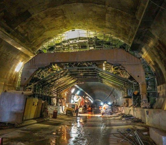 Zakopianka: najnowsze zdjęcia z budowy tunelu