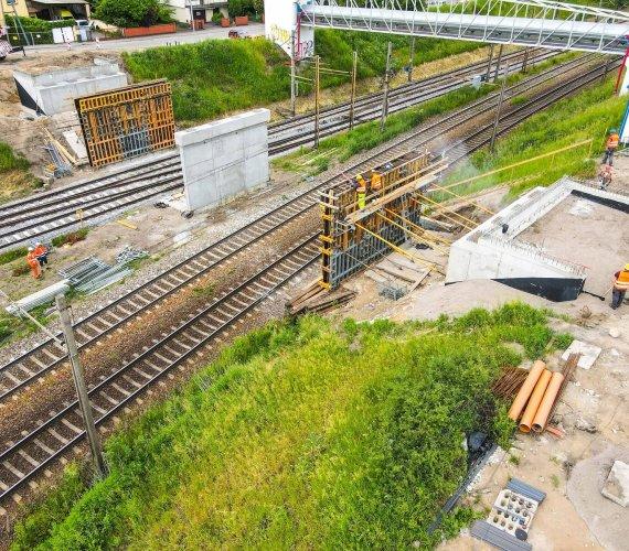 Przebudowa wiaduktu nad liniami kolejowymi w Poznaniu